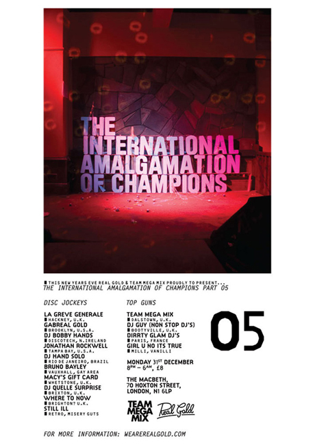 THE INTERNATIONAL AMALGAMATION OF CHAMPIONS // Part 05