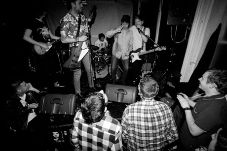 Shtting Fists live debut photographs