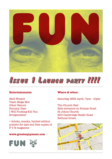 FUN Magazine Issue 1 Launch Party