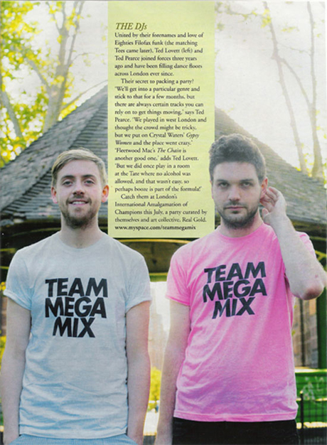 Team Mega Mix in ASOS