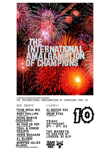 THE INTERNATIONAL AMALGAMATION OF CHAMPIONS // Part 10