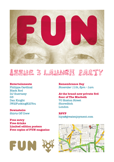 FUN Magazine Issue 3 Launch Party