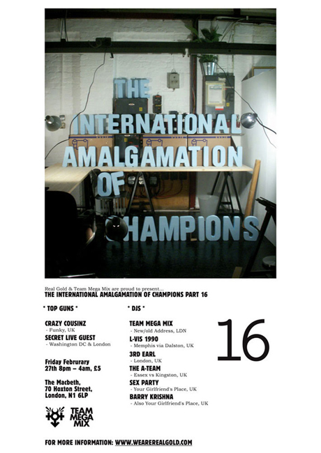 THE INTERNATIONAL AMALGAMATION OF CHAMPIONS // Part 16