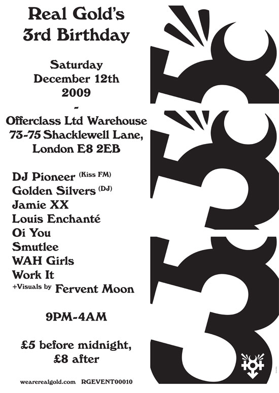 RGEVENT0011 // Real Gold's 3rd Birthday