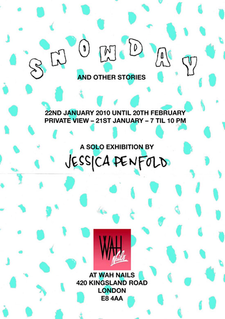Jessica Penfold presents 'Snowday'