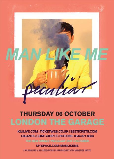 Man Like Me 'Peculiar' launch