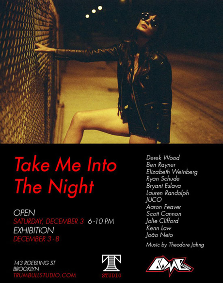 Ben Rayner in 'Take Me Into The Night'