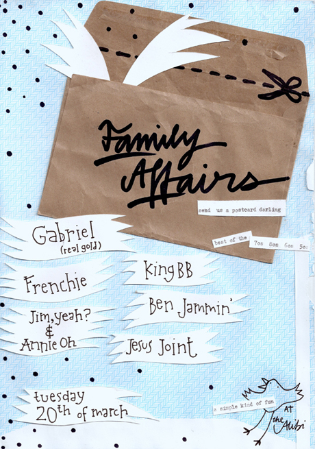 Gabriel Pryce at Family Affairs