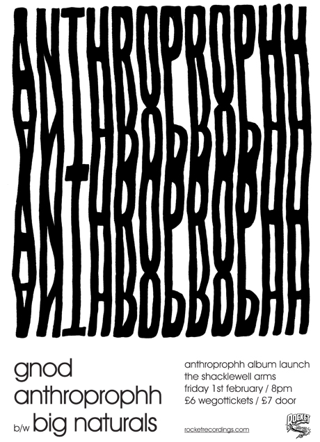 Rocket Recordings present Anthroprophh
