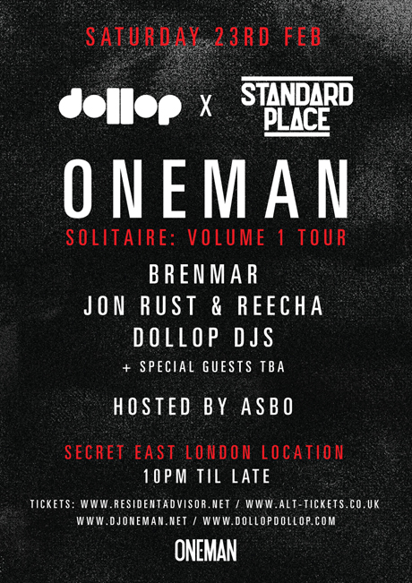 Oneman - Soiltaire Vol. 1 Launch