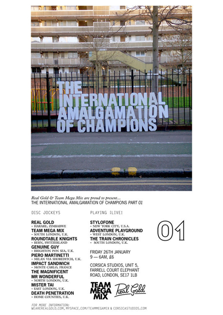 THE INTERNATIONAL AMALGAMATION OF CHAMPIONS // Part 01