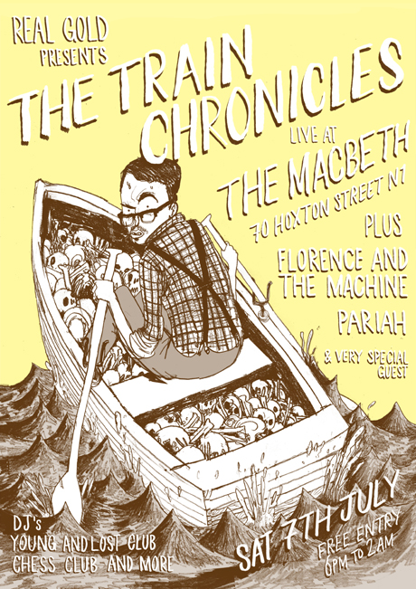 RGEVENT0004 // The Train Chronicles Release Show