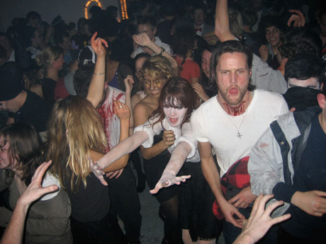 Shitting Fists Halloween Party photographs