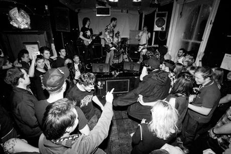 Shtting Fists live debut photographs