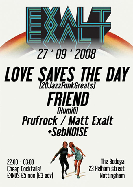 Love Saves The Day at Exalt
