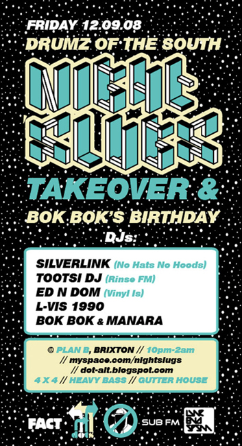 Night Slugs present Bok Bok's Birthday