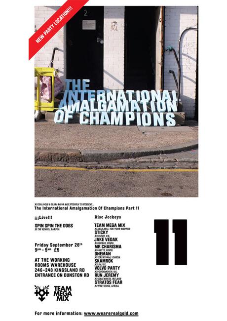THE INTERNATIONAL AMALGAMATION OF CHAMPIONS // Part 11