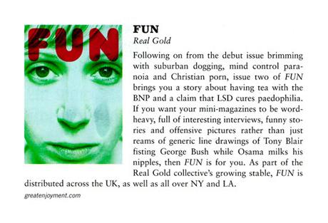 FUN Magazine in Vice