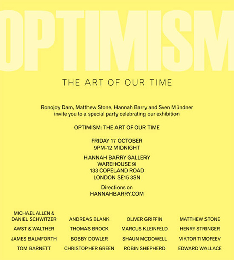 Optimism : The Art Of Our Time