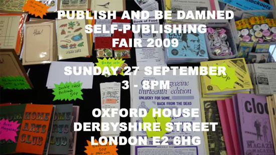FUN Magazine at Publish And Be Damned 27th