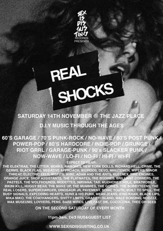 Real Shocks