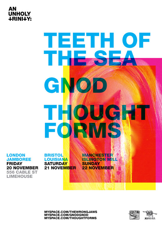 Teeth Of The Sea Tour