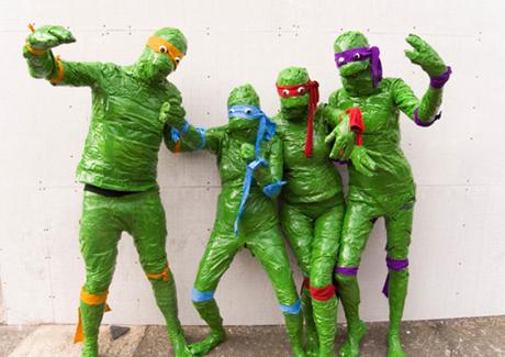 James Unsworth presents Ninja Turtle Sex Museum