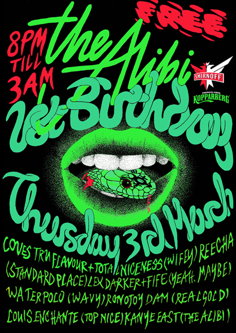 RGEVENT0014 // The Alibi's First Birthday