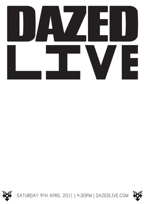 RGDJ0015 // Dazed Live