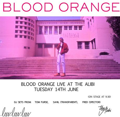 Blood Orange at The Alibi
