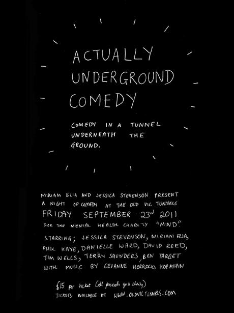 Actually Underground Comedy