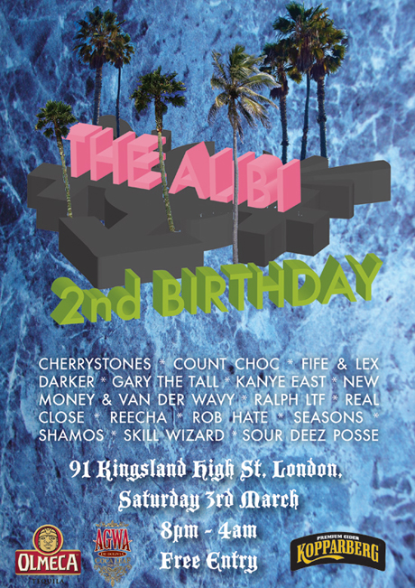 RGEVENT0021 // The Alibi's 2nd Birthday