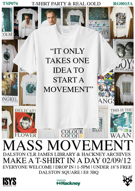 RGCOLLAB0011 // Mass Movement